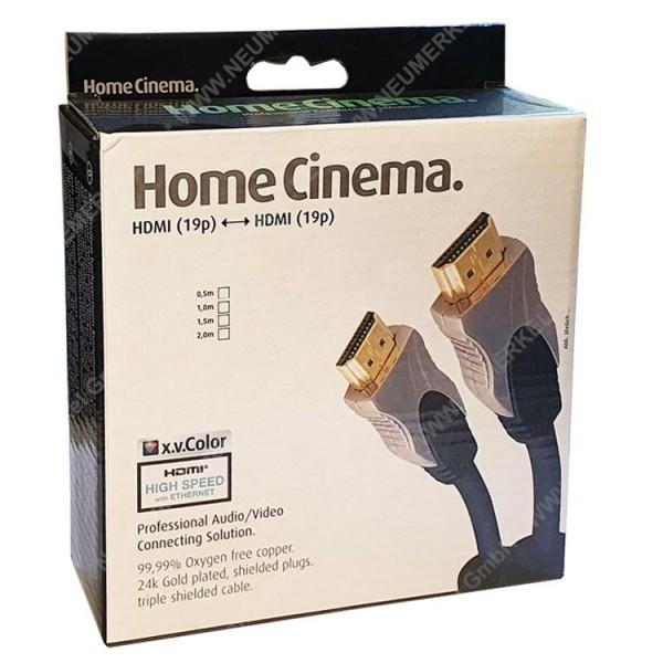 HDMI Profikabel St.-St. 1,0m mit vergold. Stecker