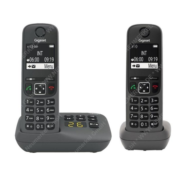 Gigaset AE690A Duo, inkl. Mobilteile, anthrazit..