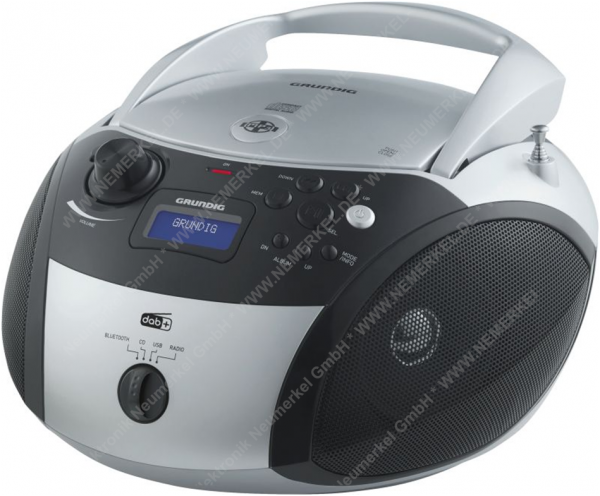 GRB 4000 BT DAB+si/sw Radioplayer, CD-Player,