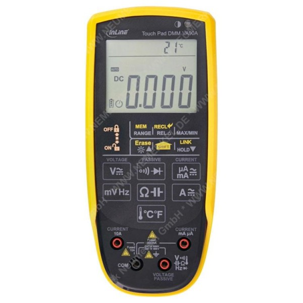 InLine Multimeter mit Touch Pad CATIII / CATIV...