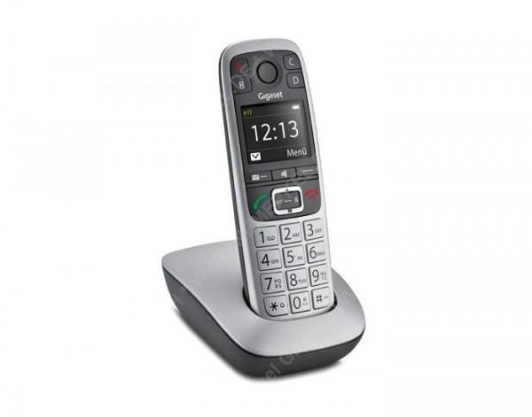 Gigaset E560 schnurlos-Telefon, platin