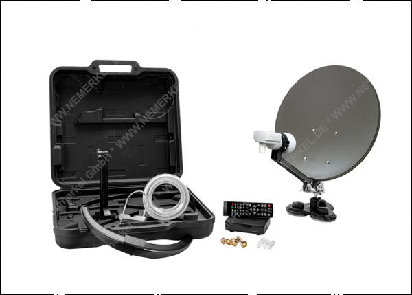 MCA 38 HD Set, Camping SAT-Anlage, Receiver, LNB..