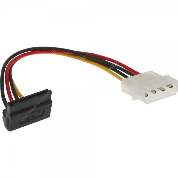 SATA Poweradapter 4pol. Stecker auf Sata gewinkelt