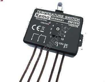 "M 169 A Temperaturschalter Thermostat ""Kemo"""