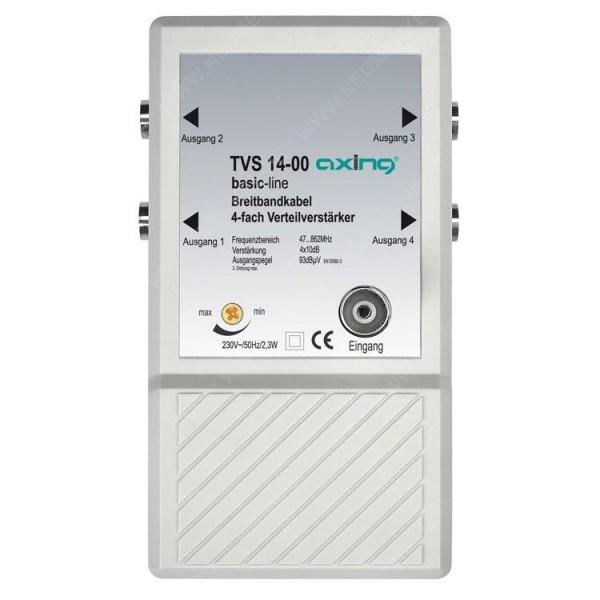TVS 14-00, 4-fach Verteilverstärker...