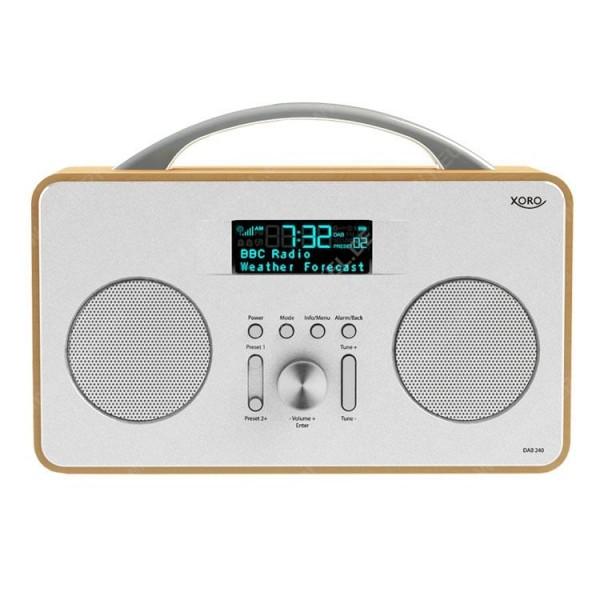 XORO DAB 240, DAB+/FM Stereo-Radio, holz...