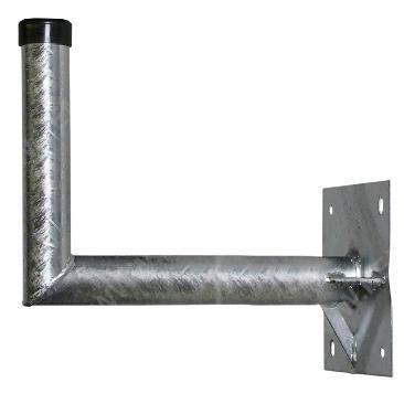 WHS 70 Stahl-Wandhalter 69cm x 28cm, Rohr Ø 48mm,