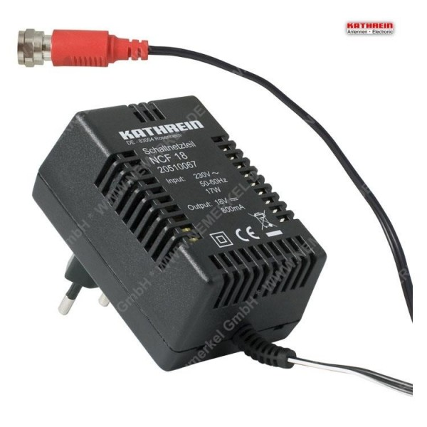 NCF 18 hochwertiges Schaltnetzteil, 18V 800mA ...