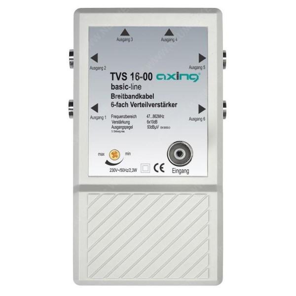 TVS 16-00, 6-fach Verteilverstärker...