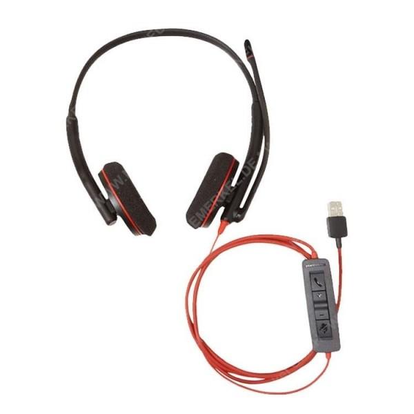 PLANTRONICS Blackwire C3220 Headset binaural USB..