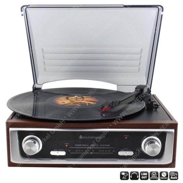 PL196 H Plattenspieler mit Radio...