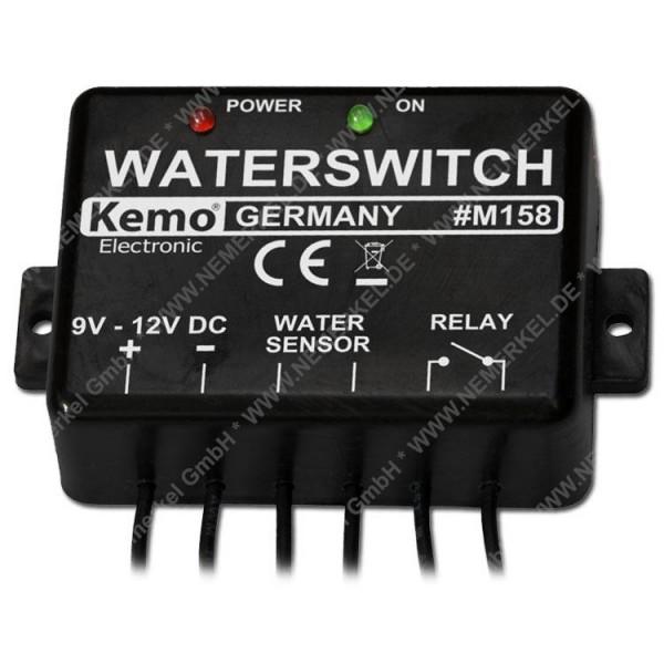 M 158 Wassermelder, 9 - 12 V/DC...