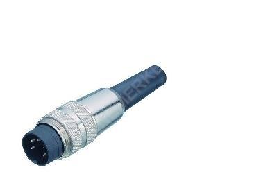 Binder M16 Stecker 5-polig (DIN) 270°