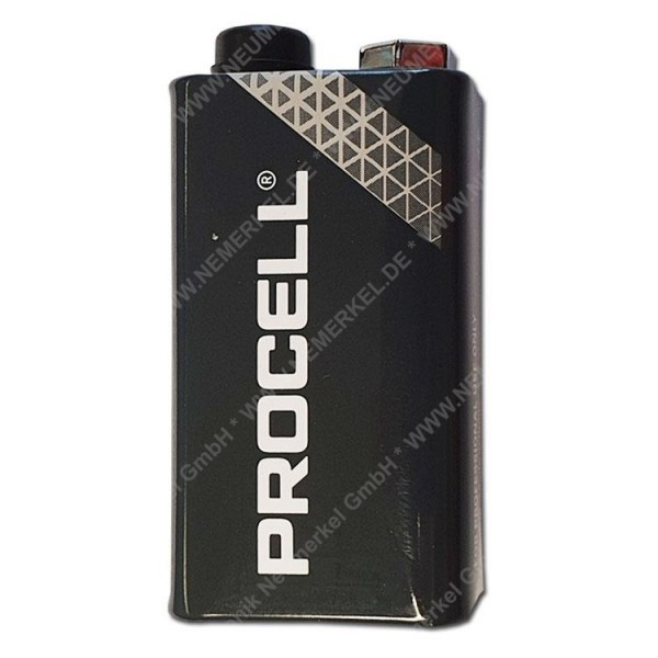 PROCELL MN 1604, 9-V Block, lose Duracell...