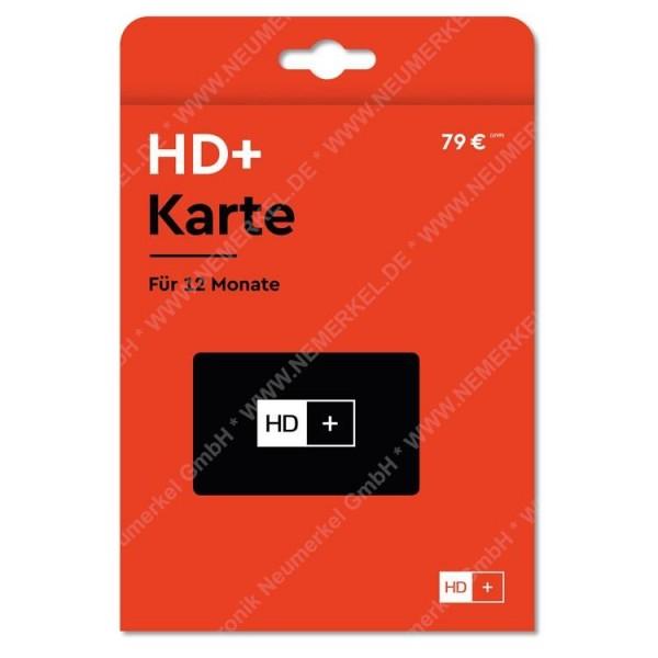 HD+ Smartcard für 12 Monate...
