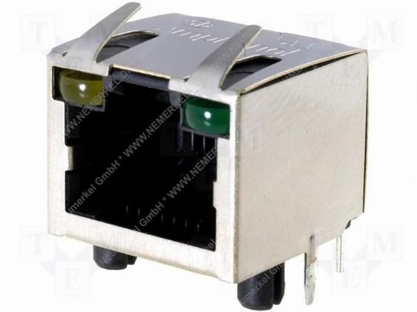 RJ 45 Printbuchse für Netzwerktechnik