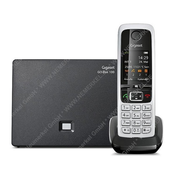 Gigaset C430A GO, schnurlos Telefon mit AB, sw...