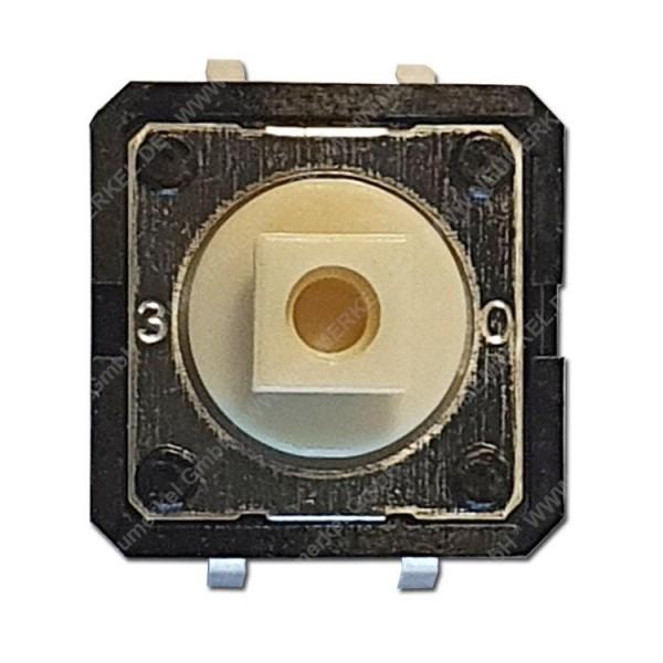 Printtaster 12x12mm, 1x Ein...