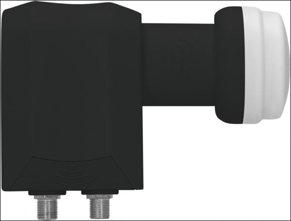 Universal Twin-LNB, Feedaufnahme 40mm...