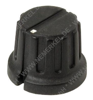 Knopf für 6mm Poti B 162 schwarz