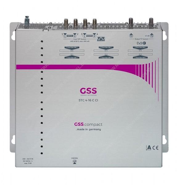 MTX 5-16 CT CI Kompakt-Kanalaufbereitung, GSS