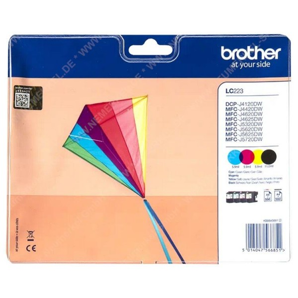 BROTHER LC-223 Multipack...
