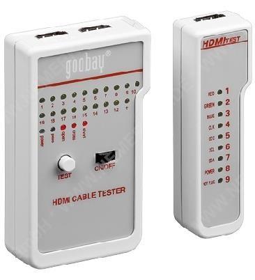 HDMI™ Leitungstester für Kabel mit HDMI A-Stecker