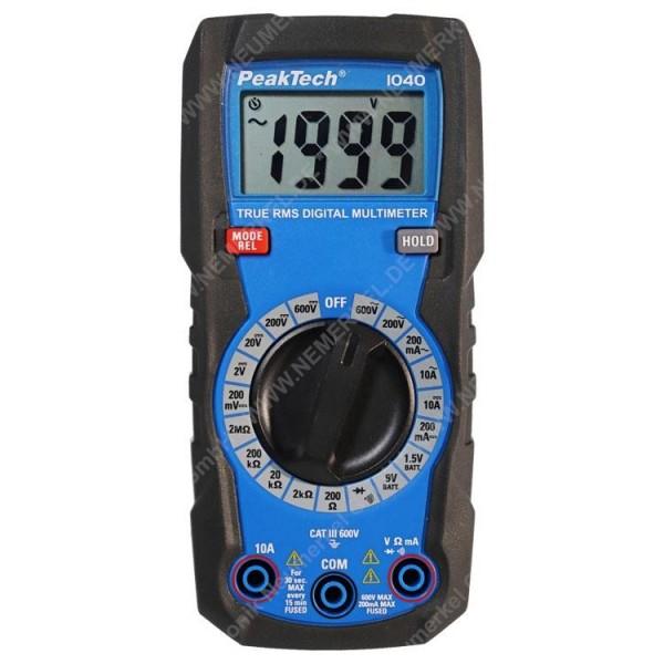 PeakTech P 1040, TrueRMS Digital Multimeter...