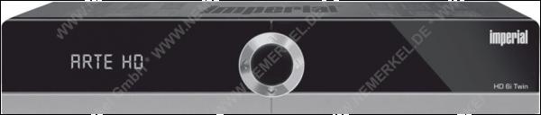 Imperial HD 6i Twin HDTV-Receiver,HDMI, schwarz