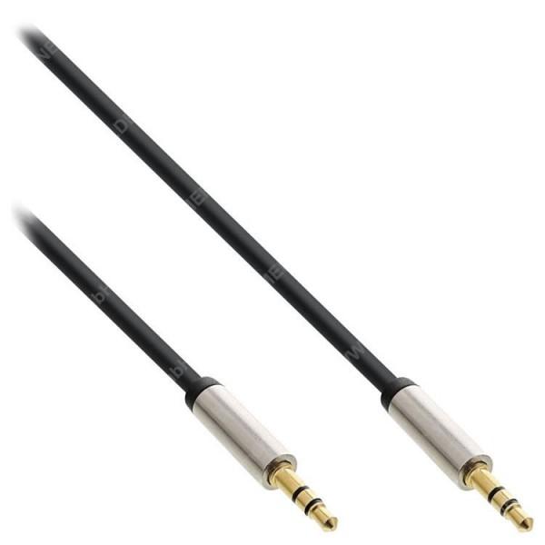 InLine Slim Audio 3m Klinke 3,5mm ST/ST ...