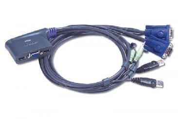 Aten CS64U KVM Switch 4xVGA/USB/Audio