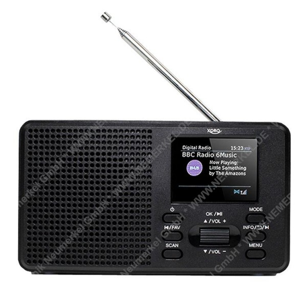 XORO DAB 142, DAB+/FM Radio...